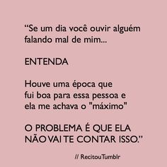 A imagem pode conter: texto Frases Tumblr, Love You, My Love, Sentences, Texts, Life Quotes, Funny Memes, Sad, How Are You Feeling