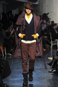 Jean Paul Gaultier Fall 2012 Menswear Collection Slideshow on Style.com