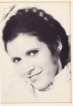 Carrie Fisher Empire Strikes Back Star Wars pin up 2