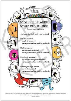 Ons hou die hele wêreld in ons hand