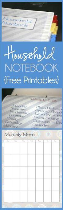 Dozens of free organizational printables in various styles.