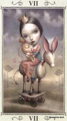 Nicoletta Ceccoli Tarot/2014 - Alice tarot from Baba Studios.