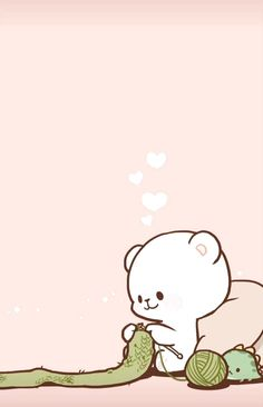 - Milk & Mocha ❤ -#fondo #whatsapp #fondowhatsapp Wallpaper Iphone Love, Bear Wallpaper, Couple Wallpaper, Kawaii Wallpaper, Cute Wallpaper Backgrounds, Screen Wallpaper, Phone Wallpapers, Wallpaper Quotes, Cute Bear Drawings