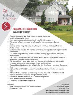 #RealEstate #One #Sheet #Just #Listed #Flyer #Branded #Design