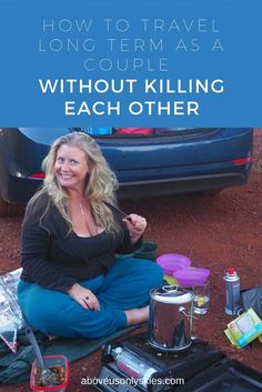 How to travel long term as a couple without killing each other blog post header image
