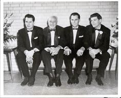 Conrad Hilton and his sons (from left to right):  Barron, Conrad, Nick, and Eric (Courtesy of the Conrad N. Hilton Collection, Hospitality Industry Archives, University of Houston) Conrad Hilton, Lead Men, University Of Houston, Love Pictures, Nyc, Memories, History, Sons, People