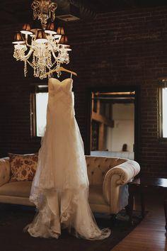 Dress hanging in the loft Hanging Wedding Dress, Wedding Dress Hanger, Wedding Poses, Wedding Couples, Wedding Ideas, Perfect Wedding Dress, One Shoulder Wedding Dress, Maria Eugenia, Western Wedding Dresses