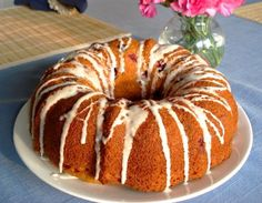 Blueberry Friendship Bread or Bundt Cake (Coffeecake)