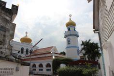 Muslim Mosque in Songkhla, Thailand
