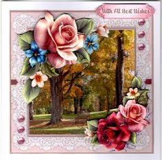 8x8 Mini Kit  Tranquillity in the Park on Craftsuprint - View Now!