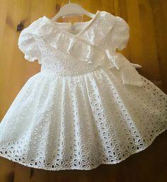 Kids Outfits Girls, Dresses Kids Girl, Girls Christening Dress, Baby Girl Dress Design, Dress Anak, Kids Dress Wear, Girls Special Occasion Dresses, Baby Girl Dress Patterns, Baby Frocks Designs