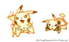 Pikachu in Bijuu Mode!!