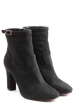 A+classic+hue+and+a+smooth+suede+upper+make+these+ankle+boots+a+versatile+and+indulgent+choice+from+coveted+brand,+L'Autre+Chose+#Stylebop