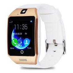 nice Reloj Inteligente Apro Smart Watch sorporte Facebook Whatsapp con Bluetooth 3.0 Built-in 8G Memoria Teléfono Inteligente Amarre Pulsera con Pantalla Táctil Cámara para Android Samsung HTC LG Huawei Xiaomi Teléfonos Inteligentes Reloj Deportivos SIM/TF