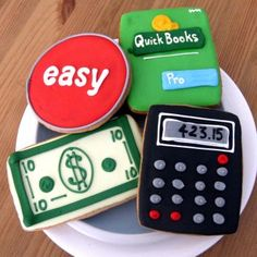 QuickBooks is one example of accounting software that accountants use (Accounting Cookies)  sunflowerbaking.com