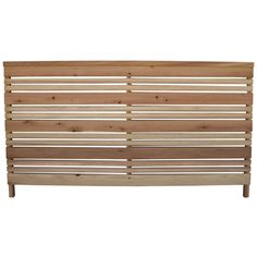 New back yard fence: 3-ft x 6-ft Redwood Flat-Top Wood Fence Panel