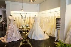 5 Tips for Wedding Dress Shopping from Expert Isabel O'Neil on SMP's Little Black Book Blog: http://www.StyleMePretty.com/little-black-book-blog/2014/03/26/isabel-oneil-bridal-boutique/ #SMP / PezzPhoto.com