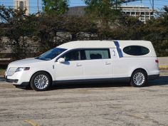 2012 Lincoln MKT hearse by Specialty Vehicle Group
