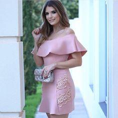 Ver esta foto do Instagram de @jjmodas • 471 curtidas I Dress, Peplum Dress, Lace Dress, Short Dresses, Summer Dresses, Formal Dresses, Wedding Dresses, Coctail Dress Short, Teen Fashion