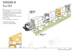 laurens and loustau architects: HOUSING Architecture Student Portfolio, Social Housing Architecture, Co Housing, Architecture Design, Mass Building, Public Realm, Plan Drawing, Affordable Housing, Urban Design