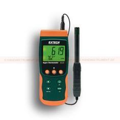 http://termometer.dk/luftfugtmaler-r13208/hygro-termometer-med-sd-logger-med-sporbart-kalibreringscertifikat-53-SDL500-NIST-r13261  Hygro-termometer med SD logger. Med sporbart kalibreringscertifikat  Relativ fugtighed, temperatur, dugpunkt og våttermometer  Justerbar datafangsthastighed  Lagrer 99 aflæsninger manuelt, og 20 millioner aflæsninger via 2G SD Card  Type K / J Termoelement indgang til måling af høje temperaturer  Stort baggrundsbelyst dual LCD-display  Optag / Recall MIN...