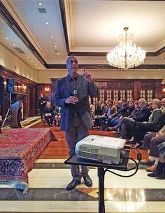 Demétrio Magnoli em Curitiba no evento da Bnai Brith que comemora 68 anos de Israel.