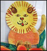 12 Best Lion Crafts For Kids Images Paper Plates Paper Plate