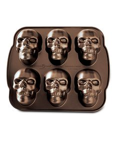 Look at this Skull Cakelet Pan on #zulily today!