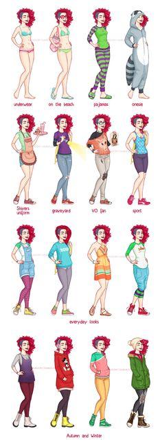 Amy's+Outfits+Chart+by+ribkaDory.deviantart.com+on+@deviantART
