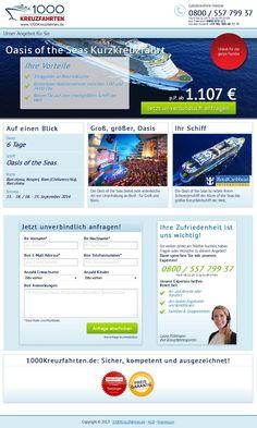 Die OASIS OF THE SEAS erstmals im Mittelmeer. 6 TAGE Kreuzfahrt, bereits ab1107€.