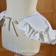 18th century false rump, undergarment for dress support
