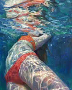 These Stunning Underwater Paintings By Isabel Emrich Will Take Your Breath Away Underwater Photography, Art Photography, Underwater Photos, Street Photography, Landscape Photography, Fashion Photography, Wedding Photography, Mode Poster, Reflection Art