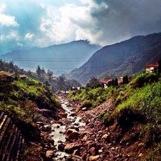 View From Mile 68, Tembagapura, Papua, Indonesia