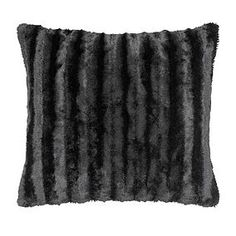 Filled with polyester hollowfibre and finished in black, this fluffy square cushion features a removable cover which is machine washable. Black Throw Pillows, Soft Pillows, University Rooms, Cushion Filling, Scatter Cushions, Soft Furnishings, Cushion Covers, Plush, Blanket