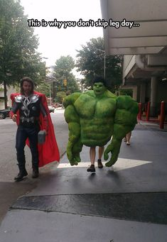 this is why you don't skip leg day...