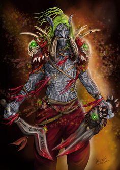 - World of Warcraft - Troll, Kay'zual Blacktusk by Ladunu on DeviantArt