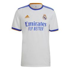 Mens Real Madrid Home Jersey 2021/22 - XL - 183/188cm