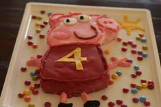 How to make a Peppa Pig Cake| this used to be my favorite show in the world when I was in preschool