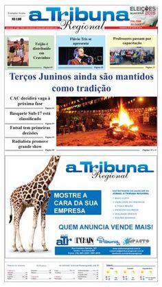 jornal  jornal A Tribuna Regional de Cravinhos