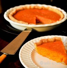 Southern Sweet Potato Pie Recipe - Cooking | Add a Pinch | Robyn Stone