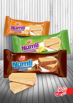 Azar Tamino   Wafer Package Design