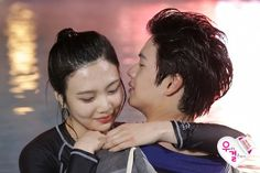 Yook Sungjae and Joy Wgm Couples, Kpop Couples, Cute Couples, Sungjae And Joy, Sungjae Btob, We Got Married Couples, We Get Married, Red Velvet Flavor, Red Velvet Joy