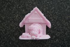 Mopshond in Hondenhok   *Nieuw Maart Zeep*   Just soap