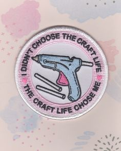 Craft Life Patch **PRE-ORDER will ship out April 24th** by MiniHouseStudios on Etsy https://www.etsy.com/listing/488854850/craft-life-patch-pre-order-will-ship-out