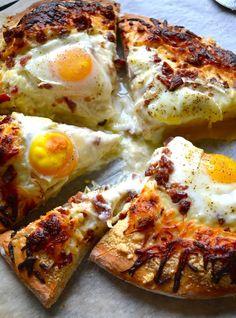 Breakfast Pizza by Rachel Schultz