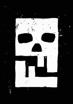 Skull Logo, Skull Art, Symbole Tattoo, Coyote Skull, Design Art, Logo Design, Arte Horror, Skull And Bones, Grafik Design