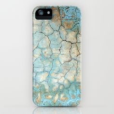 Corroded Beauty iPhone & iPod Case by RichCaspian - $35.00 #iphone #case #iphonecase #cover #blue #texture #iphone6 #6plus #abstract