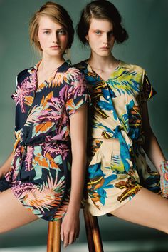 Lookbook Antik Batik - Printemps/été 2014 I had a similar jumpsuit early 70s ...very comfy!