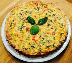European Dishes, Quiche, Cake Recipes, Food And Drink, Pizza, Favorite Recipes, Cooking, Breakfast, Health