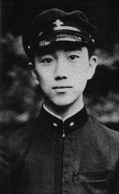 Yukio Mishima, age 14. Yukio Mishima is the pen name of Kimitake Hiraoka